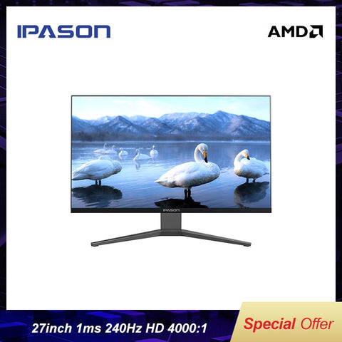 IPASON GF273 27 Inch E-Sports 240HZ Gaming Monitor - Offer Games