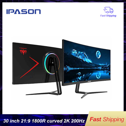 IPASON E-Sports Gaming Monitor 30-Inch - Offer Games