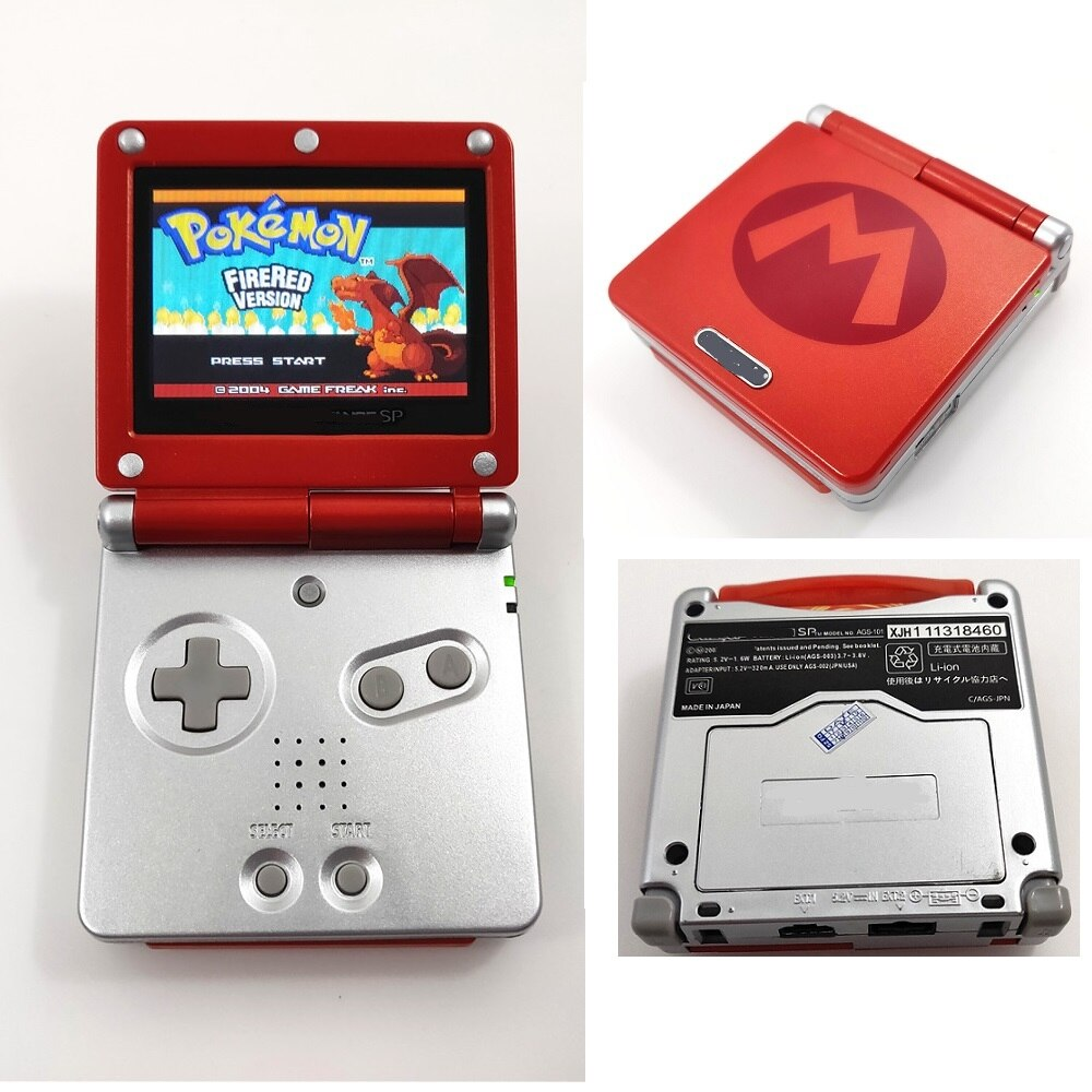 IPS LCD Refurbished GBA SP Console - Offer Games
