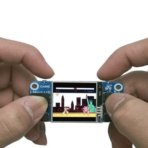 "Raspberry Pi Mini Game Console 1.54"" LCD - Offer Games"