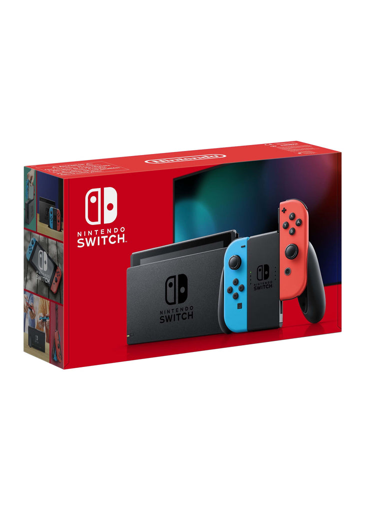 Nintendo Switch Console - Neon (Longer Battery Life) - Offer Games