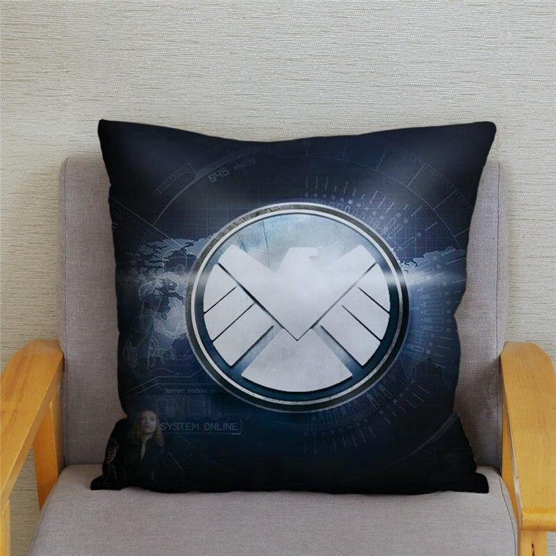 Marvel Super Hero Cushion Cover Pillowcase (Various Designs)