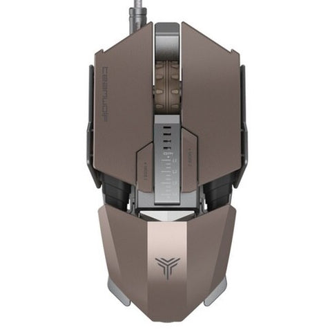 TEAMWOLF Immortal Laser Changeable Gaming Mouse - Offer Games