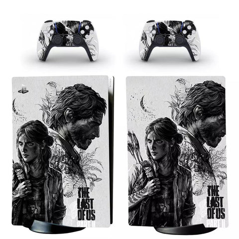 The Last of Us PS5 Digital Console + Controller Skin Cover