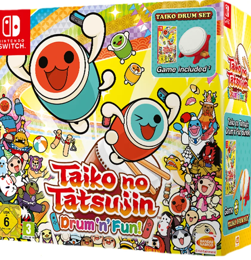 Taiko no Tatsujin: Drum 'n' Fun with Drum (Nintendo Switch) - Offer Games