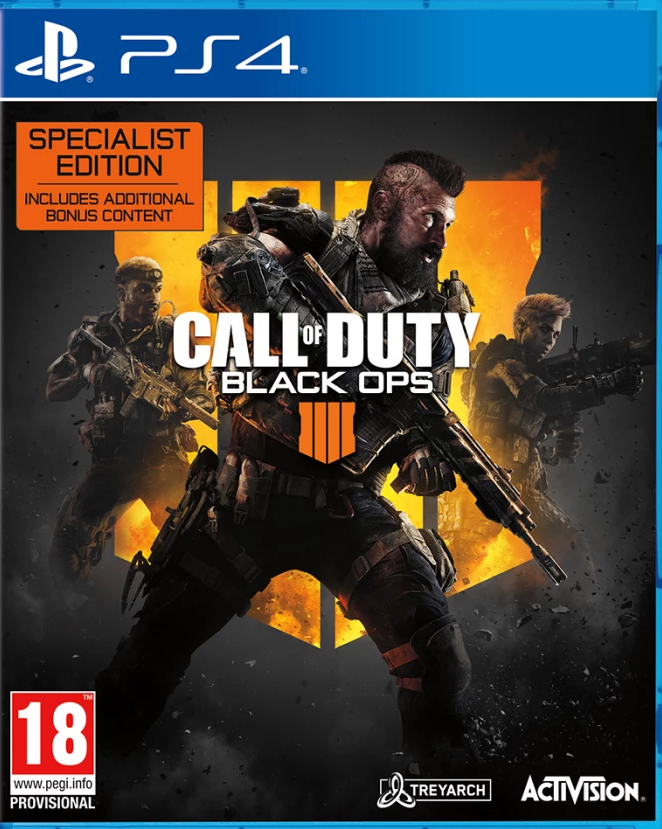 Call of Duty: Black Ops 4 Specialist Edition (PS4) - Offer Games