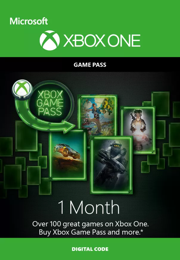 Xbox Game Pass 1 Month Membership (Xbox Live Download) - Offer Games
