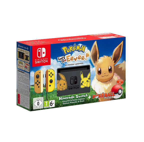 Nintendo Switch Limited Eevee Edition Console (Pokemon Let's Go) - Offer Games