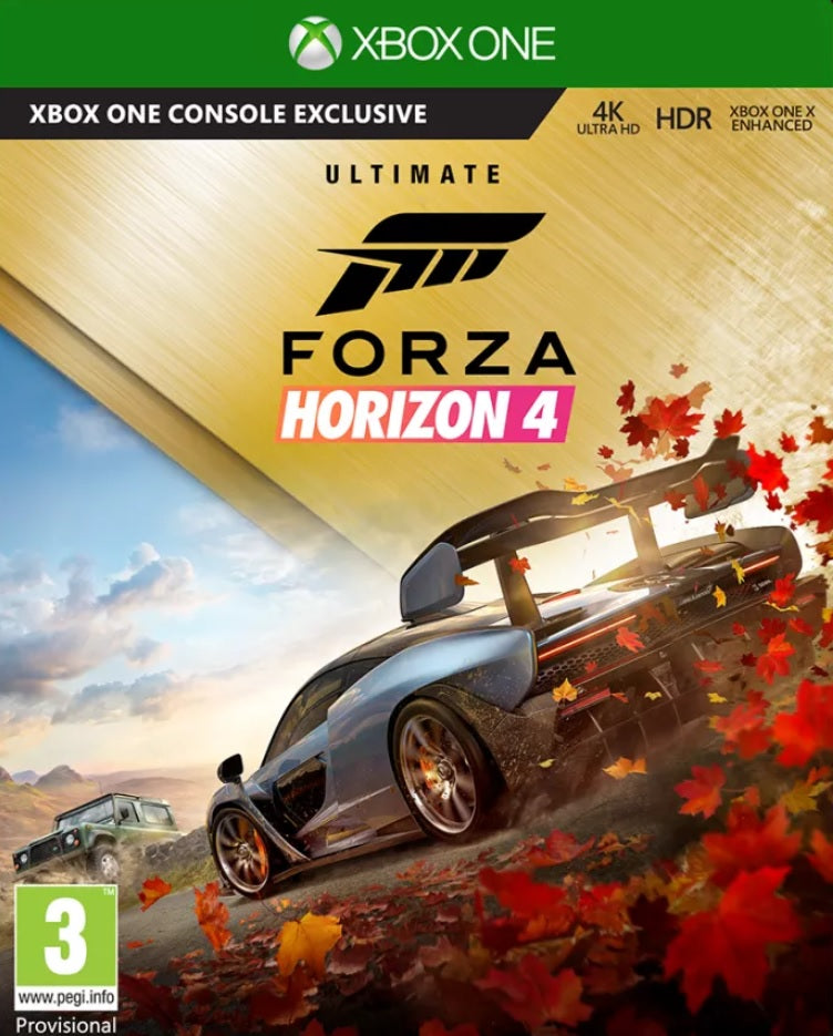 Forza Horizon 4 - Ultimate Edition (Xbox One) - Offer Games