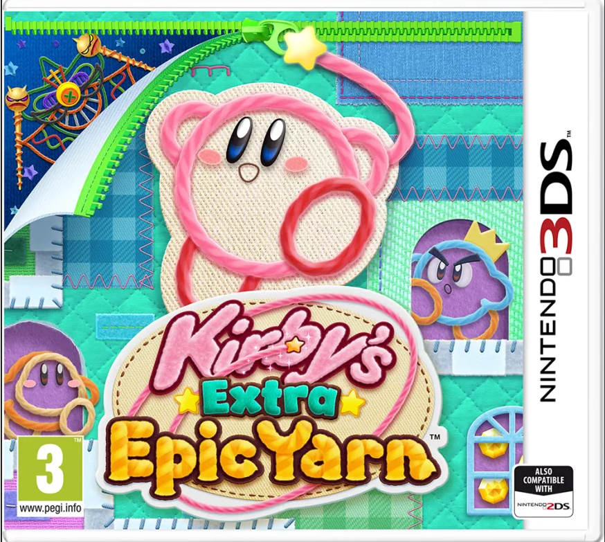 Kirby's Extra Epic Yarn (Nintendo 3DS) - Offer Games