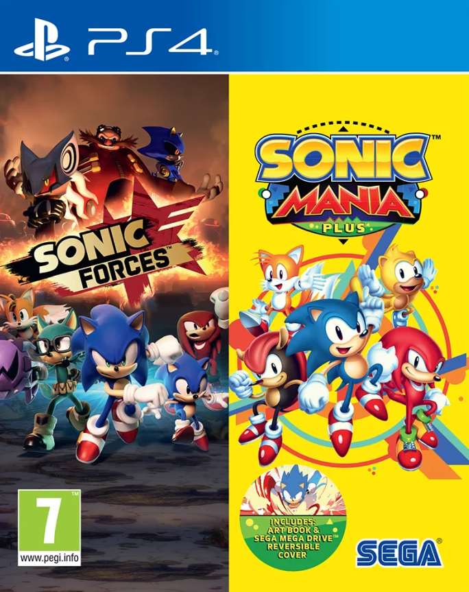 Sonic Forces + Sonic Mania Double Pack (PS4)