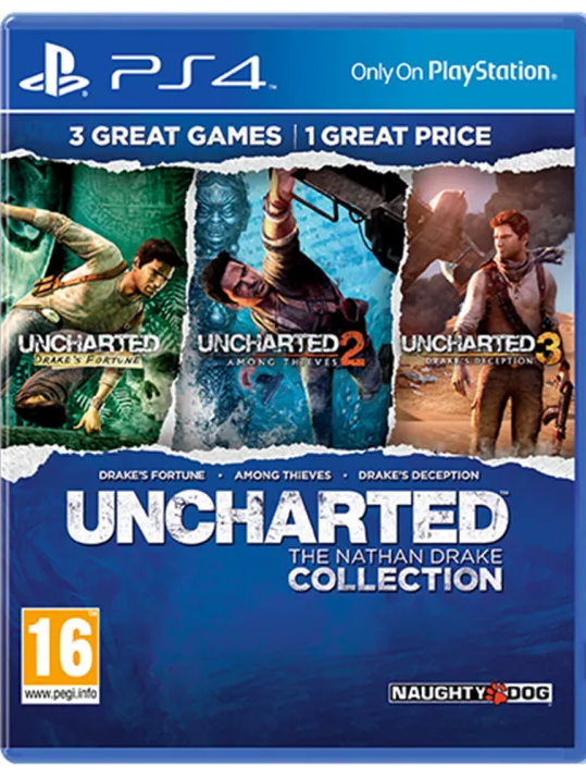 Uncharted: The Nathan Drake Collection (PS4) - Offer Games