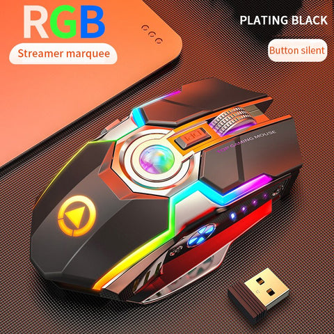 Wireless Pro Gaming Mouse - Offer Games