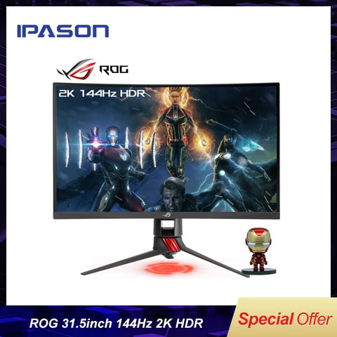 IPASON 31.5 Inches E-Sports Gaming LDC Monitor - Offer Games