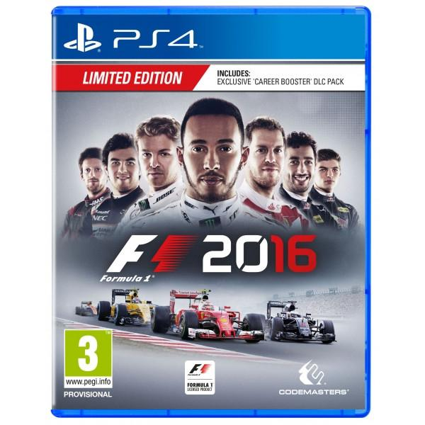 F1 2016 Limited Edition (PS4) - Offer Games