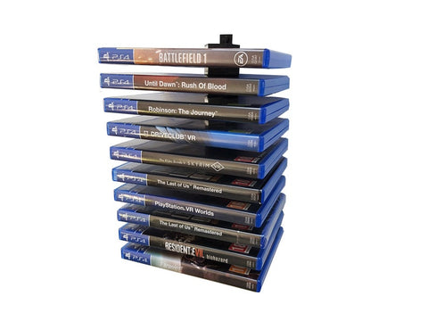Floating PS4 Game / Blu Ray Modular Wall Mount / Holder