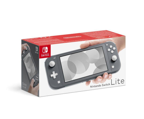 Nintendo Switch Lite Console (Grey) - Offer Games