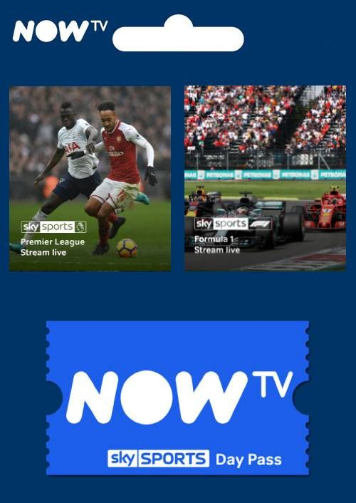 NOW TV - 1 Day Sports Pass (Download Code) - Offer Games