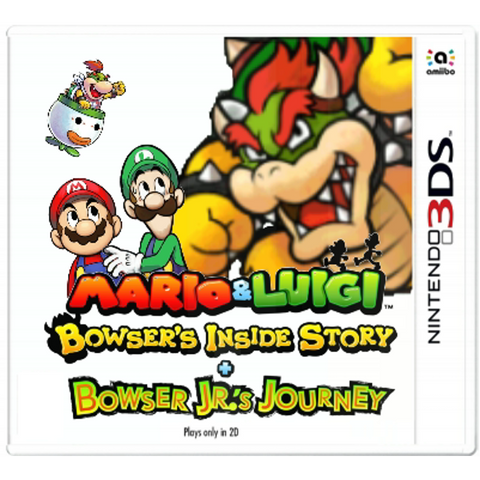 Mario and Luigi Bowser's Inside Story + Bowser Jr.'s Journey (3DS)