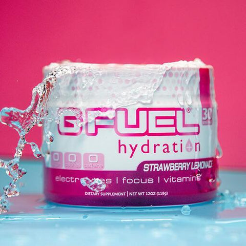 GFUEL- Hydration Formula | Strawberry Lemonade