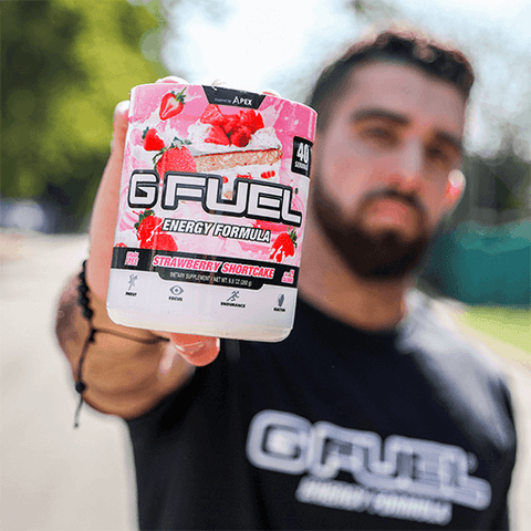 GFUEL Strawberry Shortcake