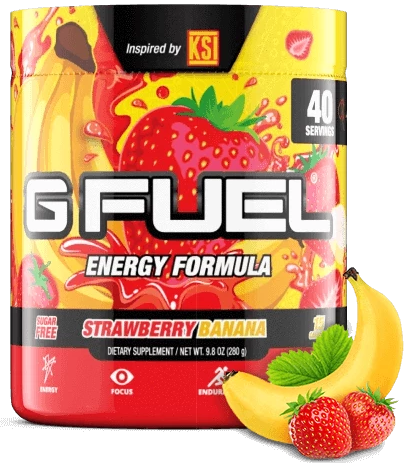 Gfuel: KSI Strawberry Banana