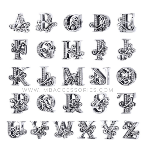 INITIALS/ALPHABET PERSONALIZE CHARMS
