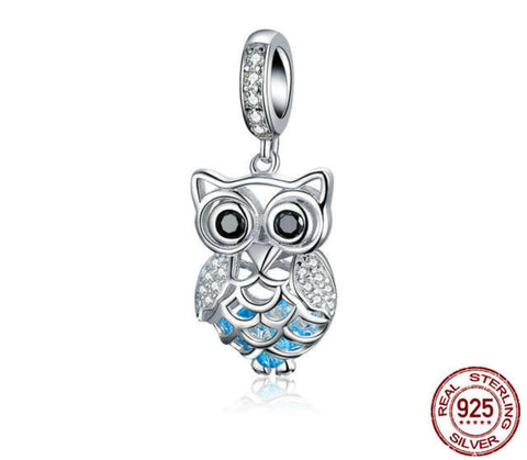 OWL LOVERS CHARM