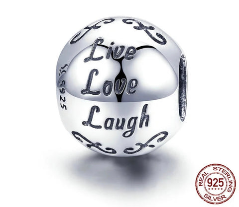 LIVE, LOVE, LAUGH CHARM