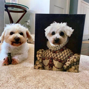 Custom Pet Canvas Art