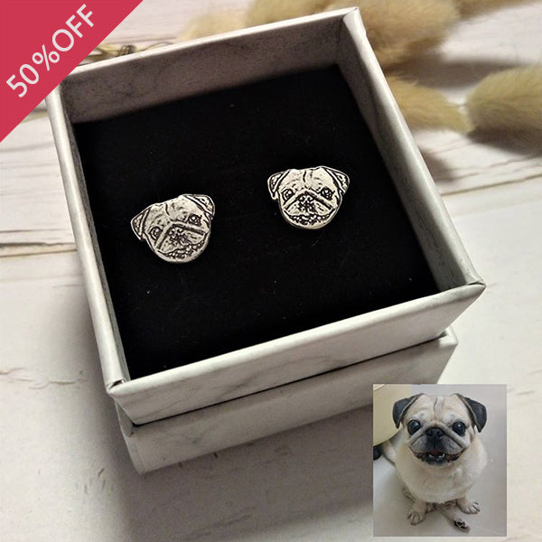 Personalized Photo Stud Earrings