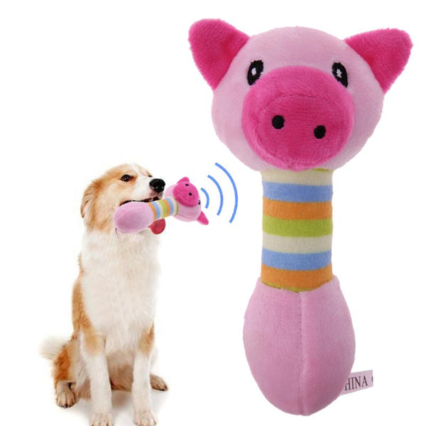 Pig Plush Squeaky Toy