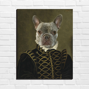 The Prince - Custom Pet Canvas
