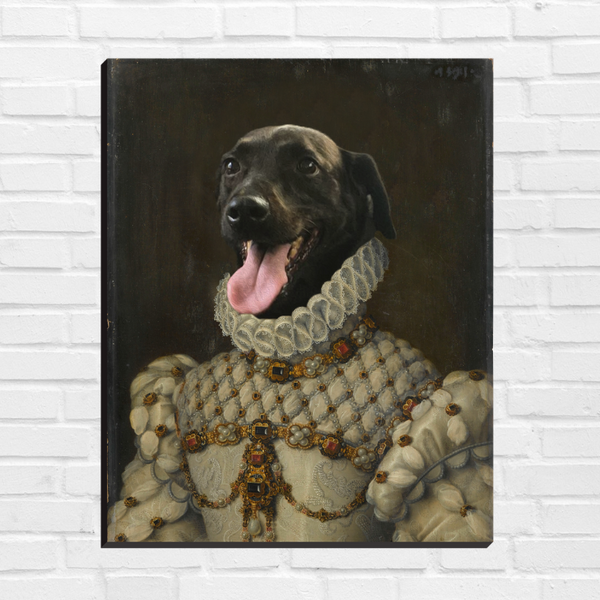 The Princess - Custom Pet Canvas