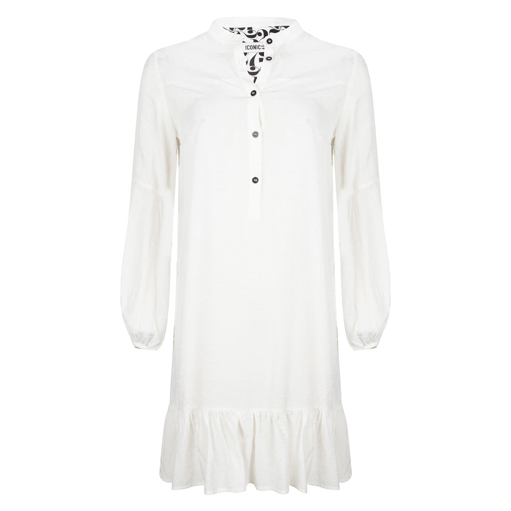 Janis Dress white