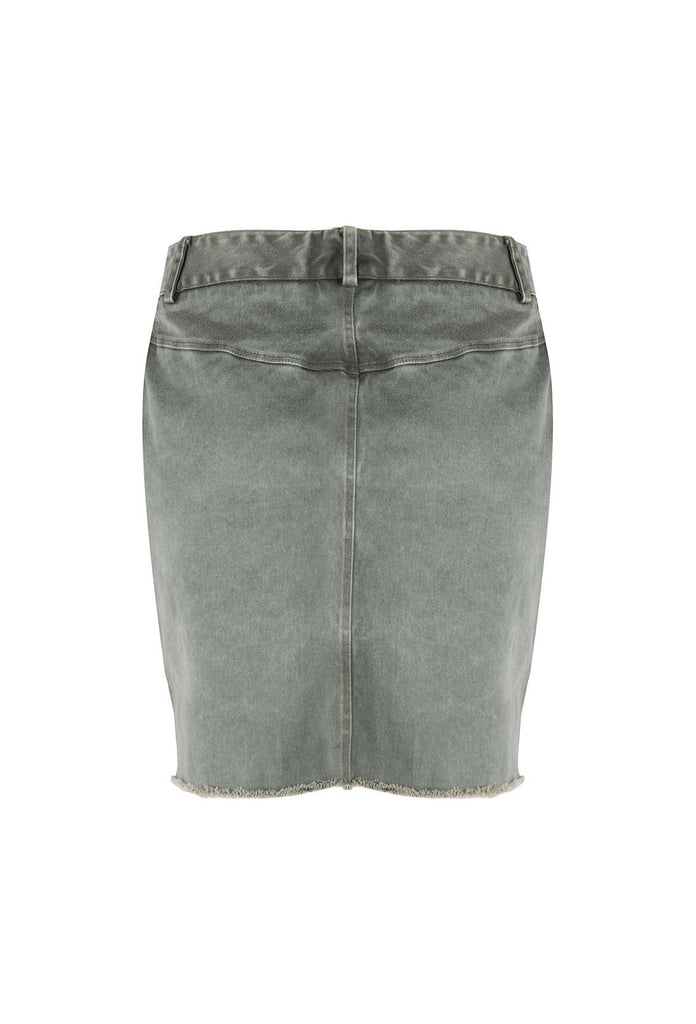 ICONIC27 - Army Skirt - Green