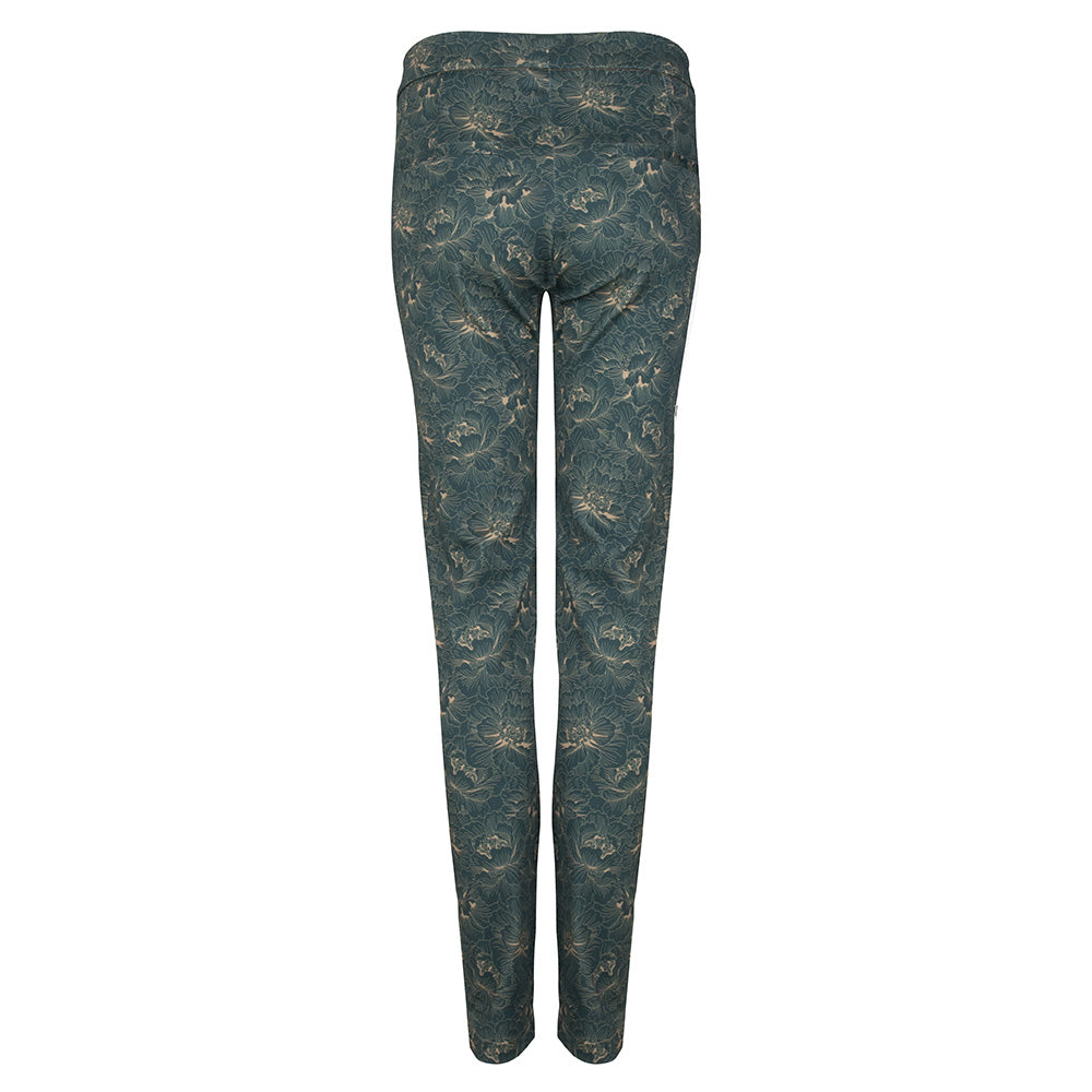 skinny pants flowerprint