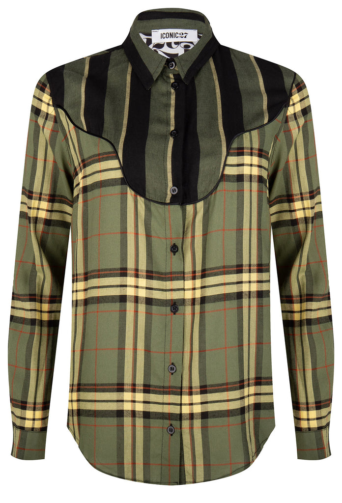Checked Cowboy Blouse