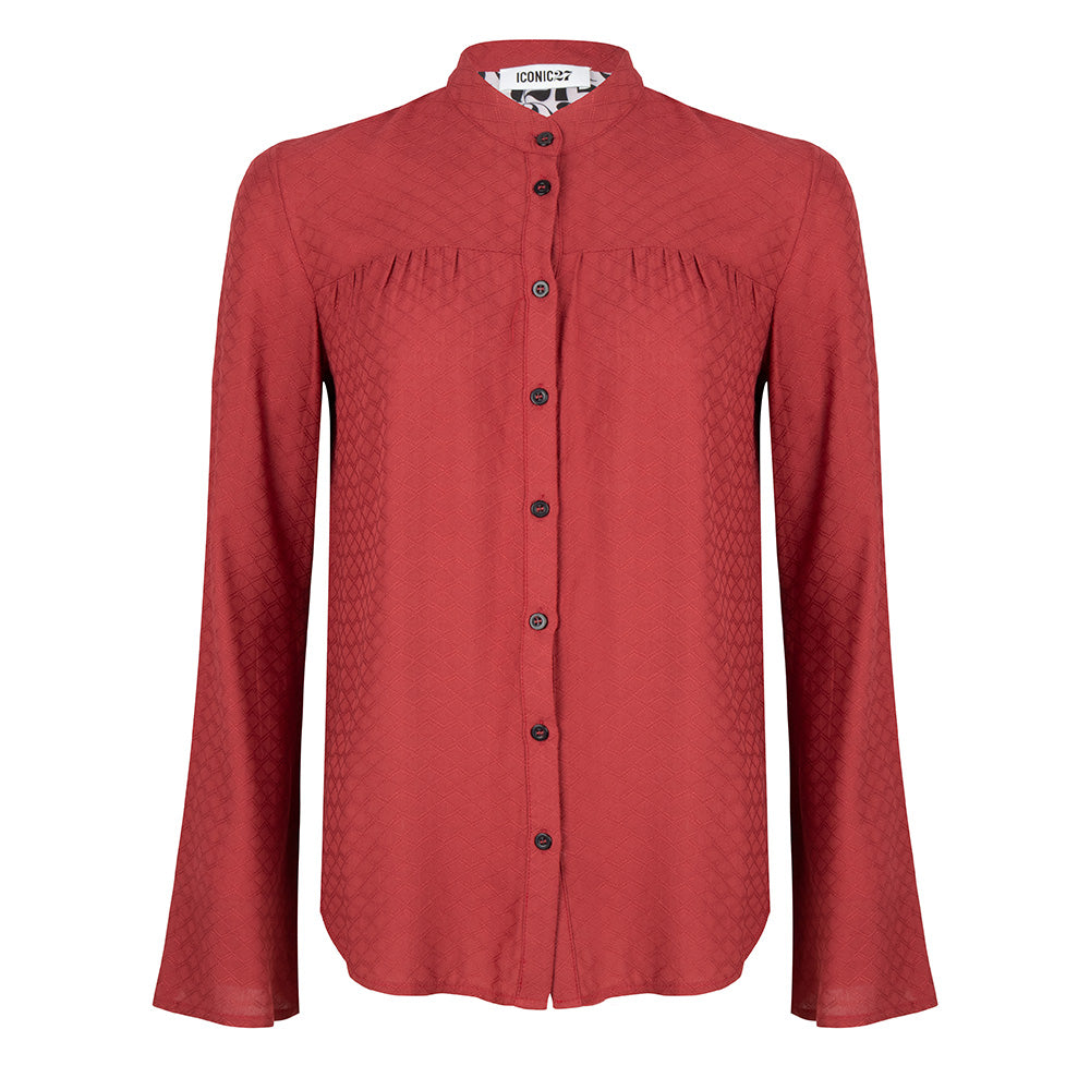 Flair blouse red