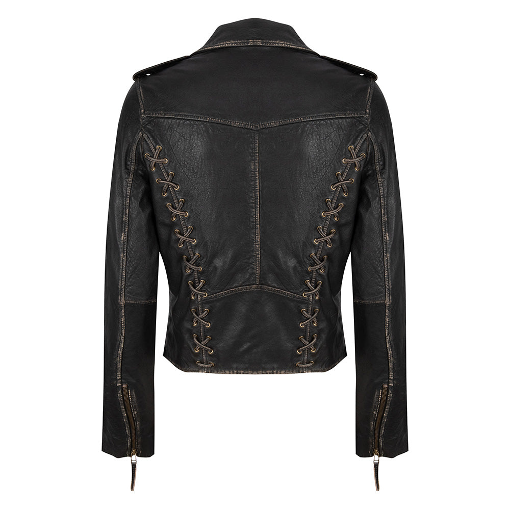 Rub off Biker jacket