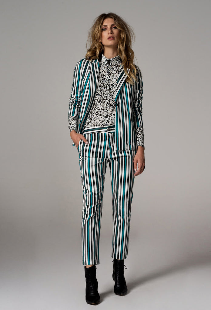 The Striped Jones Blazer