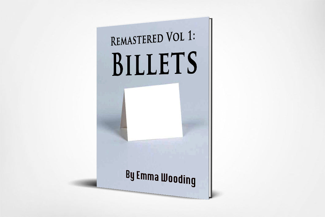 Remastered Volume One: Billets (E-Book)