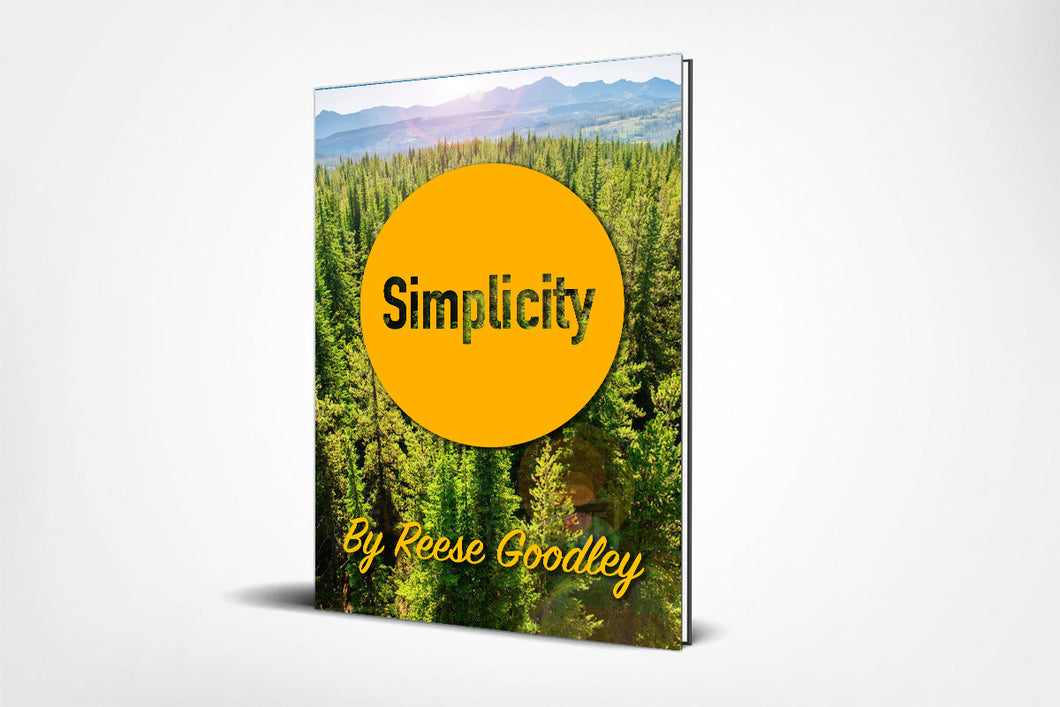 Simplicity by Reese Goodley (E-Book with Video Tutorials)