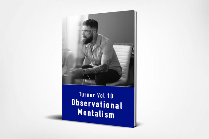 Turner Vol 10 - Observational Mentalism (E-Book)