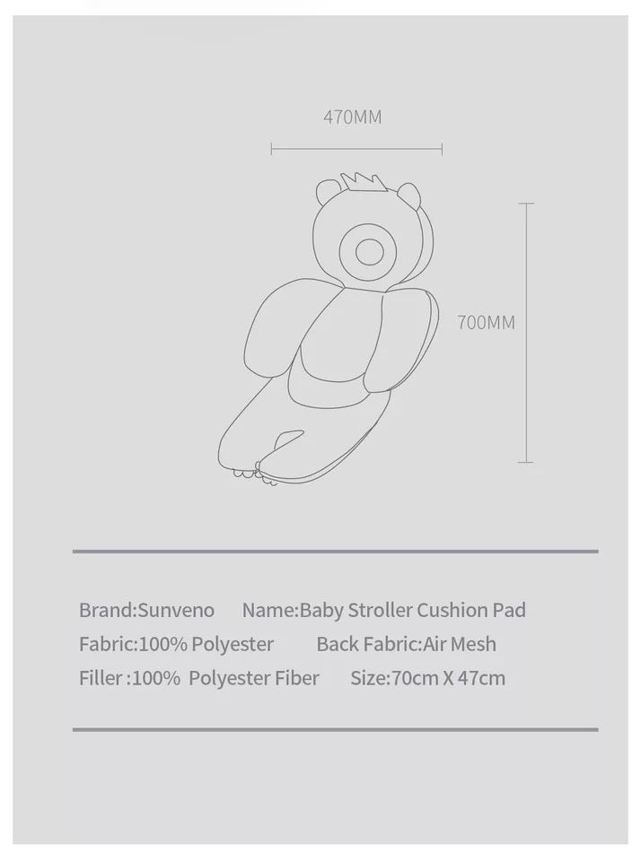 Suveno Stroller Cushion Pad