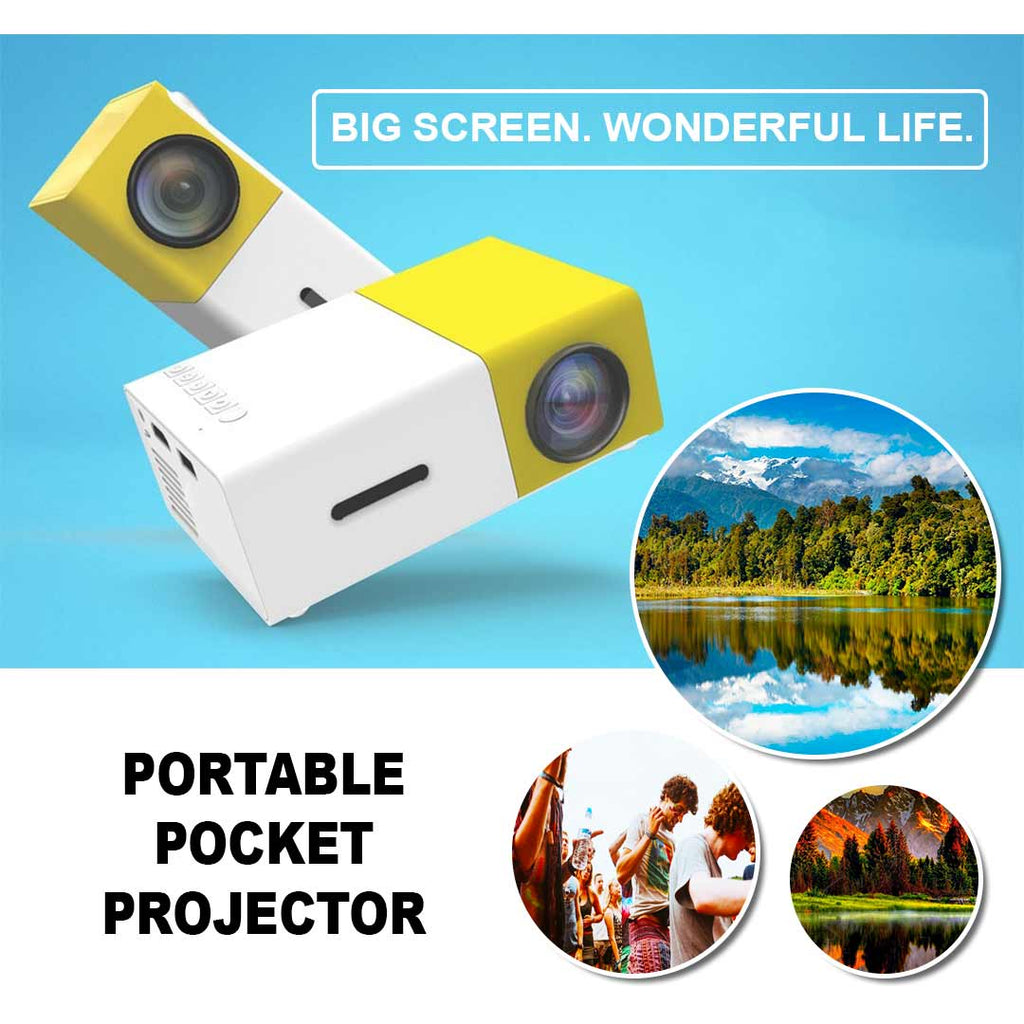 portable compact projector