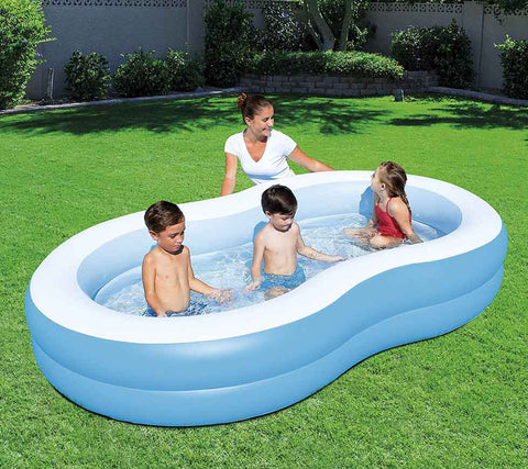 8 shaped family children pool