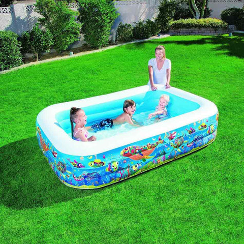 large inflatable pool for children