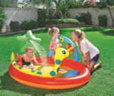 "Splash and Play Inflatable Pool (2.29m x 1.52m x 56cm / 7.5' x 60"" x 22"") - 53026"