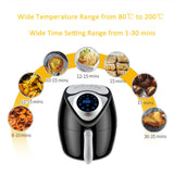Advance Touchscreen Electric Air Fryer (Oil Free) - R00106